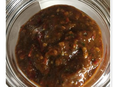 Hete chili tapenade