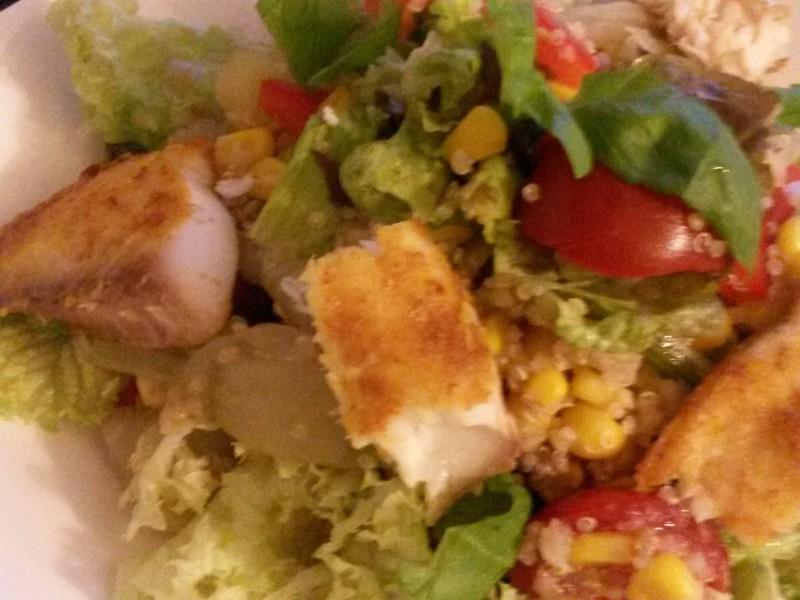 Maaltijdsalade met quinoa