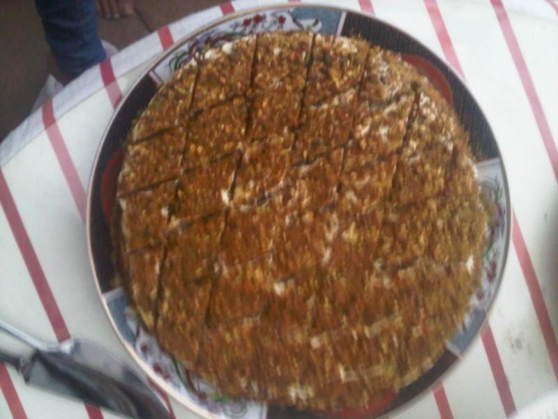 Maanzaad cake