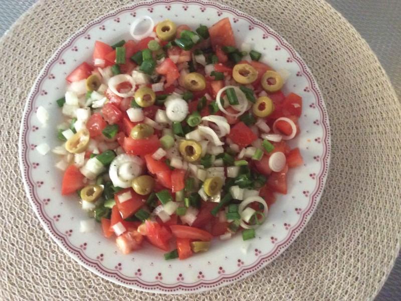 Tomatensalade ……
