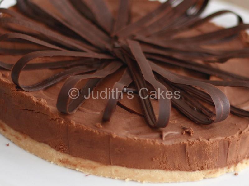 Truffel chocoladetaart (zonder likeur) (Judith's Cake)