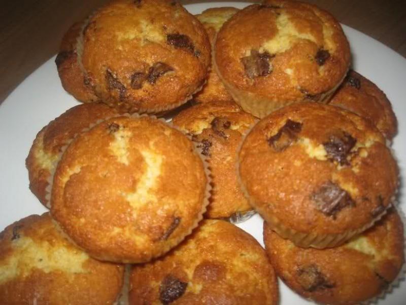 Chocolade-chip muffins