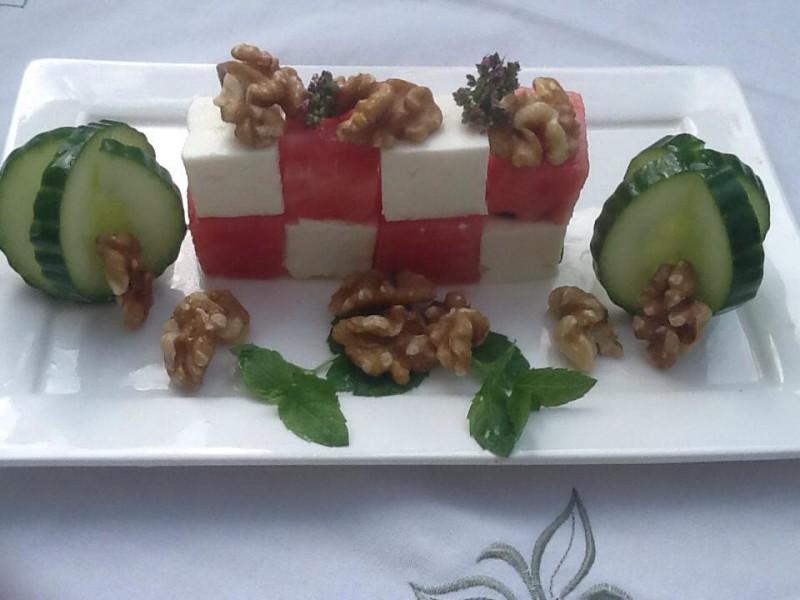 Watermeloen…met Feta