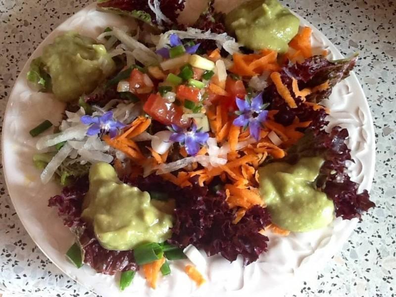 Heerlijke gezonde salade..