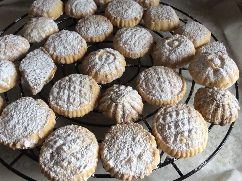 Gevulde koekjes…