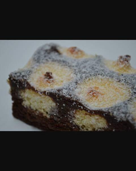 Choco cake met kokos balletjes…