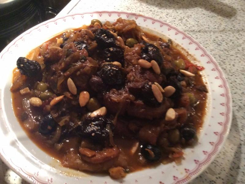 Tajine met kalfsvlees en gedroogd fruit…