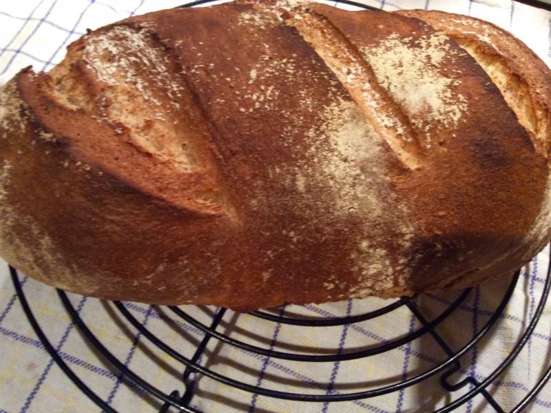 Boeren zuurdesem brood