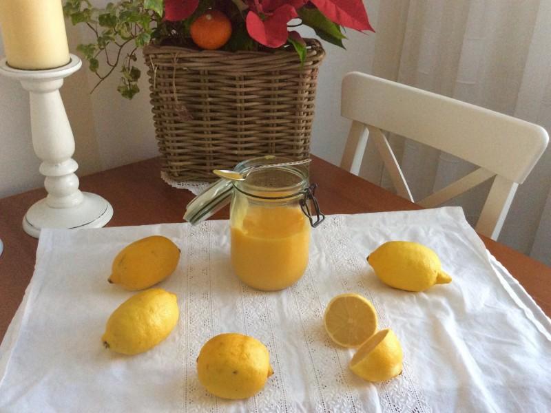 Lemon curd..