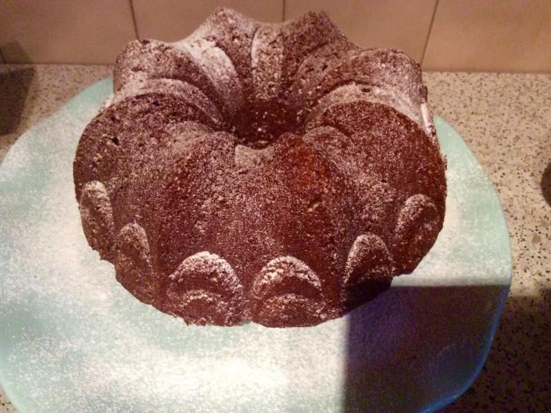 Chocolade / noten cake….