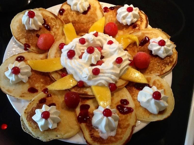 Pancakes met beslag