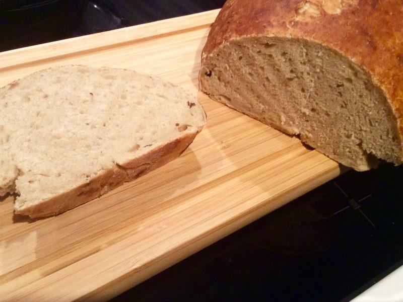 Tarwe rogge brood met zuurdesem…