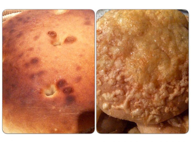 Marokkaans brood en uien/ kaas broodjes