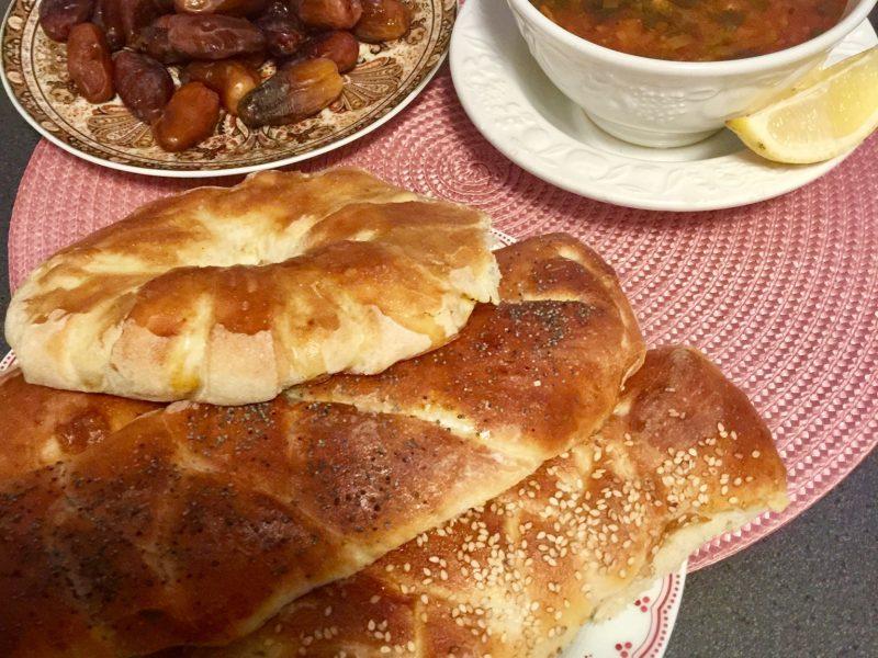 Gevulde broodjes met kip