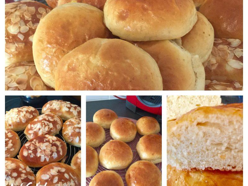 Vanille en venkel/anijs broodjes