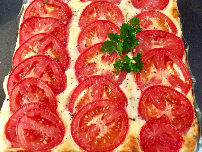 Hartige tomatentaart